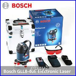 Bosch GLL8-40E Professional Electronic Self Multi-Line Laser Level