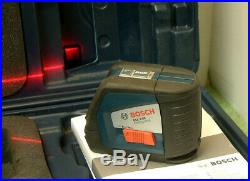 Bosch GLL 2-50 Professional Self-Levelling Cross Line Laser With Case