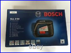 Bosch GLL 2-50 Self-Leveling Cross Line Laser Level