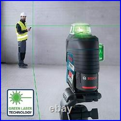 Bosch GLL 3-80 CG 12V 2.0 Li-ion System Multi Line Green Laser Level 0601063T70
