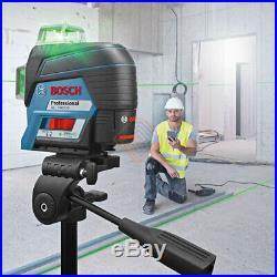 Bosch GLL 3-80 CG Self Level Green 30m 3x360° ±0.2mm 4xAA/10.8V IP54 Bluetooth