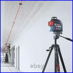 Bosch GLL 3-80 Professional Line Laser Level Self-Levelling 0601063S00 with Case