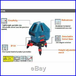 Bosch GLL 5-50X Professional 5-Line Laser Level Measure Self-Leveling