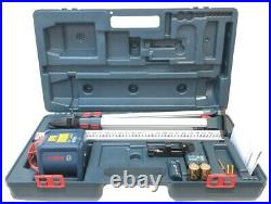 Bosch GRL1000-20HVK-RT Self Leveling Rotary Laser Kit with Tripod/Rod/Big Case