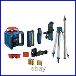 Bosch GRL2000-40HVK Cordless Self Leveling Horizontal/Vertical Rotary Laser Kit