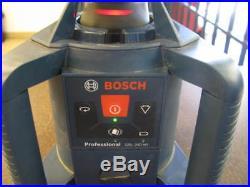 Bosch GRL240HV Self Leveling Rotary Laser 800 Ft. WithReceiver & Case