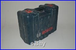 Bosch GRL250HV Rotary Self Leveling Laser Unit Arm Remotes Tripod & Case