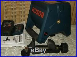 Bosch GRL250HV Self Leveling Rotary Laser Tool with LR30 & RC1 FREE SHIPPING