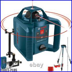 Bosch GRL800-20HVK 800 ft. Self Leveling Rotary Laser Level Kit (Recon)