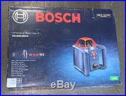 Bosch GRL800-20HVK Self-leveling Rotary Laser Kit NEW