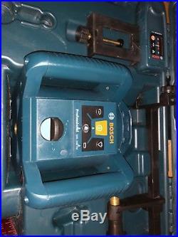 Bosch GRL 240 HV 800 ft. Self Leveling Rotary Laser Level and Remote LR24