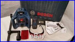 Bosch GRL 240 HV Self-Leveling Rotary Laser Level Kit 800 ft With Case