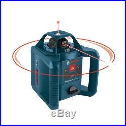Bosch GRL 240 hvck 800' self leveling Rotary Laser 5 piece kit