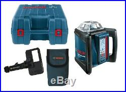 Bosch GRL 500H Self-Leveling Rotary Laser with Receiver