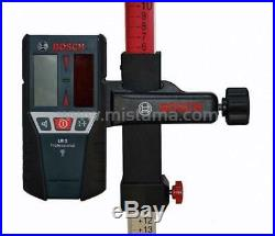 Bosch LR2 Line Laser Detector Receiver and Adaptor for Pulse Lasers