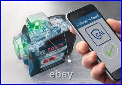 Bosch Professional GLL 3-80 CG 3 x 360° bold green lines Laser Level Bluetooth