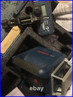 Bosch Professional GRL400H Series Horizontal Self-Leveling Rotary Laser withCase