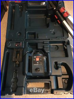 Bosch Professional GRL 240 HV Self Leveling Roatary Laser With Tripod/measure