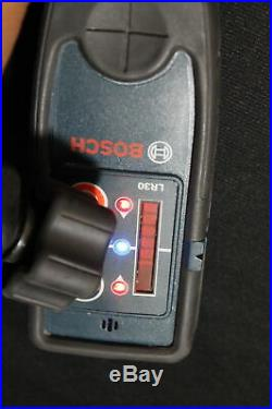 Bosch Red Beam Self-Leveling Rotary 360 Laser Level Complete Kit (GRL250HVCK)