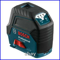 Bosch Self-Leveling Cross Laser withPlumb Points GCL2-160-RTCertified Refurbished