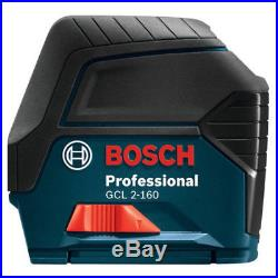 Bosch Self-Leveling Cross-Line Laser with Plumb Points GCL2-160-RT recon