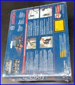Bosch Self-Leveling Cross-Line Laser with Plumb Points (GCL 2-160 S)