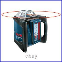 Bosch Self-Leveling Rotary Laser Kit GRL500HCK Certified Refurbished