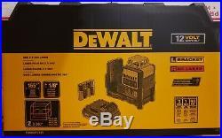 Brand New DEWALT DW0811LR 12V MAX Li-Ion 2 x 360-Degree Red Line Laser Level
