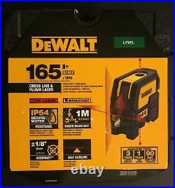 Brand New DeWalt DW0822 Cross Line & Plumb Spot Laser Red