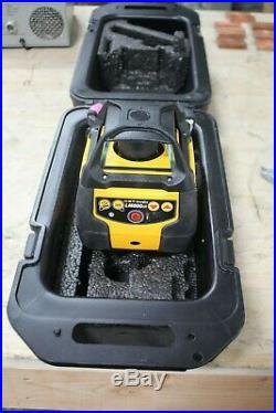 CST / Berger LM800GR Self-Leveling Dual-Grade Rotary Laser