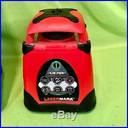 CST/Berger Lasermark LM700 Automatic Self Leveling Rotary Laser & LD120 Detector