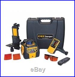 CST/berger 2800ft Self-Leveling Dual-Beam Dual-Slope Rotating Laser with Receiver