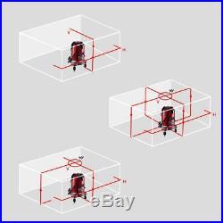 DEKO 5 Lines 6 Points Laser Level 360°Automatic Self-leveling laser