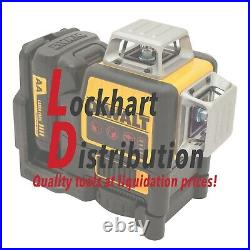DEWALT 12V MAX 3-Beam 360 Degrees Red Self-Leveling Line Laser DW089LR NEW