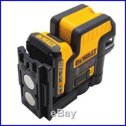 DEWALT 12V MAX Compatible 2 SPOT + Cross Line Red Laser DW0822LR New