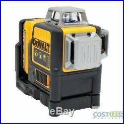 DEWALT 12V MAX Line Laser, 3 360 Degrees, Green (DW089LG)