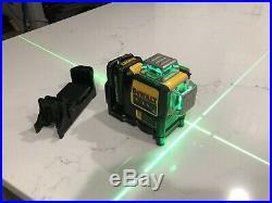 DEWALT 12V Max 360 Green Line Laser DW089LG used.