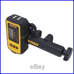 DEWALT 165 ft. Digital Line Laser Detector with Heavy Duty Clamp DW0892 New