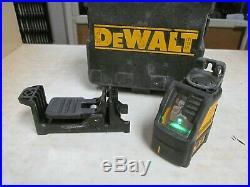 DEWALT 165 ft. Green Self-Leveling Cross Line Laser Level