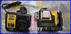 DEWALT DCE089D1G 10.8V GREEN MULTI LINE LASER 1x 2.0 AH Battery & CHARGER Only