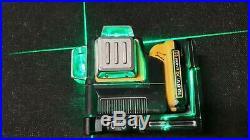 DEWALT DCE089D1G 10.8V GREEN MULTI LINE LASER 1x 2.0 AH Battery No CHARGER