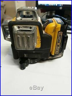 DEWALT DCE089D1G 10.8V GREEN MULTI LINE LASER 1x 2.0 AH Battery Only, NO CHARGER