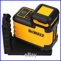 DEWALT DW03601CG 360° Green Beam Cross Line Laser