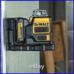 DEWALT DW0811LRR 12V Max Compatible Self-Leveling 2 x 360 Red Line Laser Level