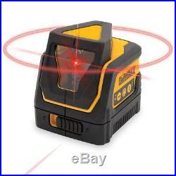 DEWALT DW0811R Self Leveling 360 Degree Line and Vertical Line Laser with Case
