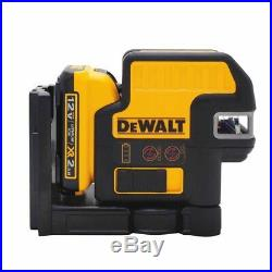 DEWALT DW0822LR 12V 2-Spot Cross Line Red Laser