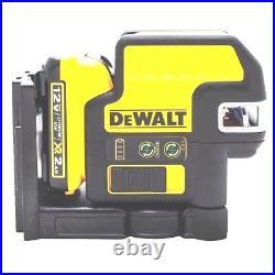 DEWALT DW0822LR 12V MAX Compatible 2 SPOT + Cross Line Red Laser new