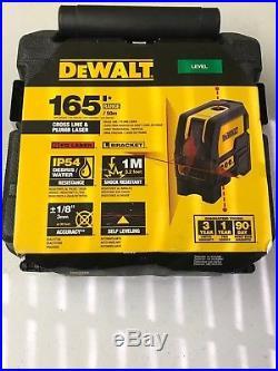 DEWALT DW0822 Self Leveling And Plumb Spots Laser level Kit NEW FREE PRTY SHPG