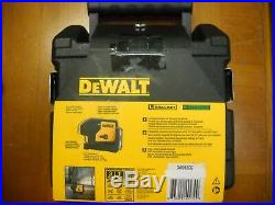 DEWALT DW083CG Green Beam 3 Spots Laser Pointer Self Leveling New