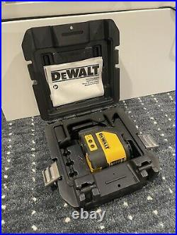 DEWALT DW088CG Self-leveling Green Cross-Line Laser Level